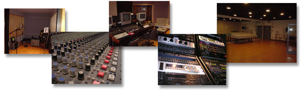 Rafelson recording studio, dance hall, mixing palace.